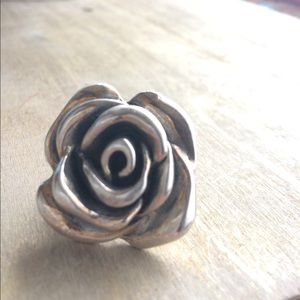 .925 Rose (hollowed) Ring